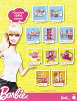 Barbie Doll and Kitchen Accessory Set