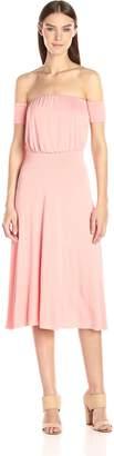 Clayton Women's Margaret Off The Shoulder Midi Dress