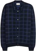 Oliver Spencer Malden Plaid Merino Wool Jacket