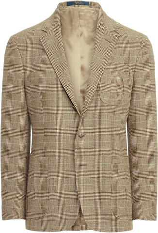 Ralph Lauren Glen Plaid Tweed Suit Jacket