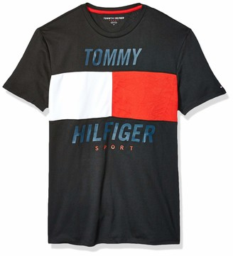 Tommy Hilfiger Men's Sport Short Sleeve Graphic T Shirt