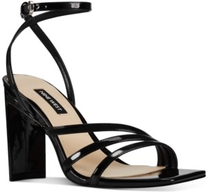 Nine West Zelina Women's Heeled Strappy Sandals Women's Shoes