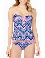Arizona Tie Dye Tankini Swimsuit Top-Juniors
