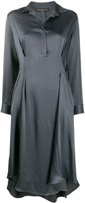 Fabiana Filippi Satin Shirt Dress