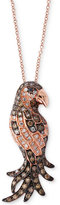 Effy EFFYandreg; Confetti Diamond Bird Pendant Necklace (5/8 ct. t.w.) in 14k Rose Gold