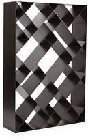 Noir Diagonal Bookcase dark copper