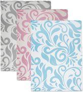Sleeping Partners Swirl Vine Knit Throw Blanket