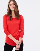 Sportscraft Alysha Long Sleeve Stud Tee