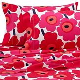 Marimekko Unikko Twin XL Sheet Set in Red
