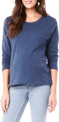 Loyal Hana Kendal Long Sleeve Maternity/Nursing Shirt