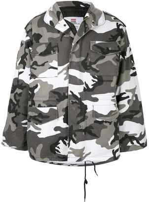 Supreme Slayer M-65 jacket