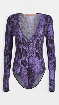 The Andamane Carmel Bodysuit