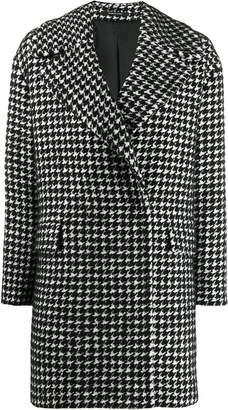 Tagliatore houndstooth short coat