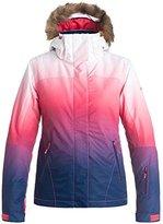 Roxy SNOW Junior's Jet Ski Printed Slim Fit Snow Jacket
