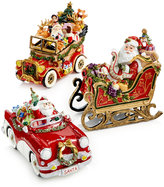 Fitz & Floyd Santa in His Musical Car Collectible Figurine