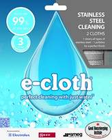 E-cloth SSP Stainless Steel Pack Set of 2