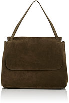 The Row Women's Top-Handle Satchel-DARK GREEN