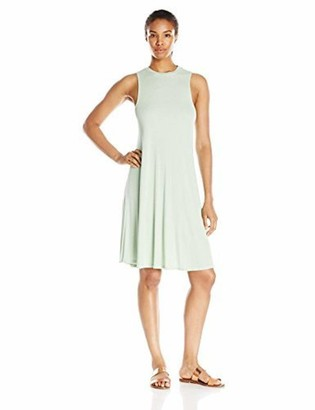 good hYOUman Women's Jamie Seafoam Mock Neck Dress X-Small