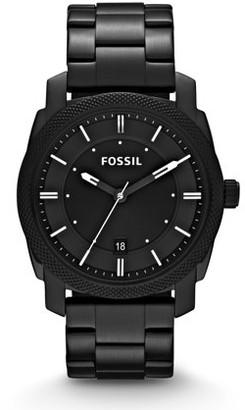 Fossil Men's Machine Black Stainless Steel Watch (Style: FS4775)