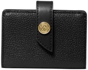 Michael Kors Michael Tab Leather Card Case