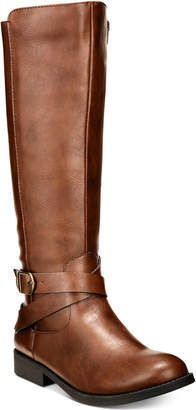 Style&Co. Style & Co Madixe Wide-Calf Riding Boots, Women Shoes