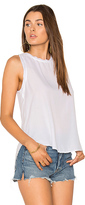 Bella Dahl Button Back Tank in White. - size M (also in S,XS)