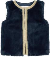 Lili Gaufrette Faux fur vest