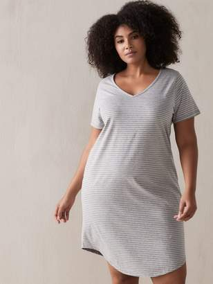 Printed Short Sleeve Sleepshirt