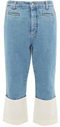 Loewe Fisherman Mid-rise Jeans - Blue
