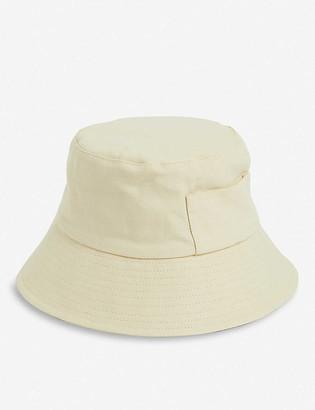 LACK OF COLOR Wave cotton-canvas bucket hat