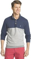 Izod Men's Classic-Fit Colorblock Fleece Pullover