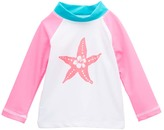 Flap Happy Chi Hoku Hibiscus Long-Sleeve Rashguard - Infant