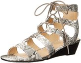 Chinese Laundry Women's Most Snake Wedge Sandal
