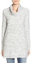 Caslon Knit Cowl Neck Tunic (Regular & Petite)