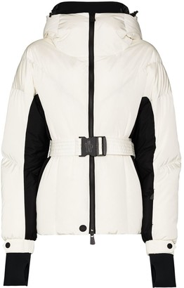 MONCLER GRENOBLE Frachey belted zip-up ski jacket