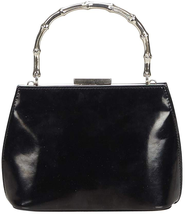 857cb6974 Gucci Bag Black Patent - ShopStyle