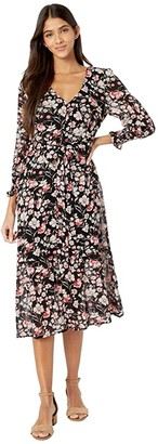 Sanctuary Fontana Midi Dress (Filtered Spring) Women's Dress