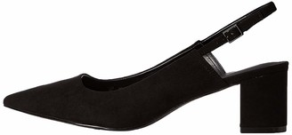Find. Amazon Brand Women's Slingback Pump Black) US 5