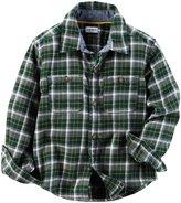 Carter's Checker Button Down Shirt - Plaid - 4T