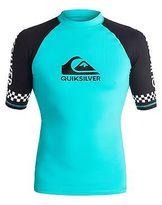 Quiksilver NEW QUIKSILVERTM Mens On Tour Short Sleeve Rash Vest Rashie Rashvests