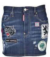 DSQUARED2 Patches Mini Skirt