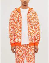 Moschino Graphic-print cotton-jersey hoody