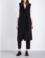 Pringle Longline wool and cashmere-blend coat