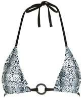 Topshop Snake ring bikini top