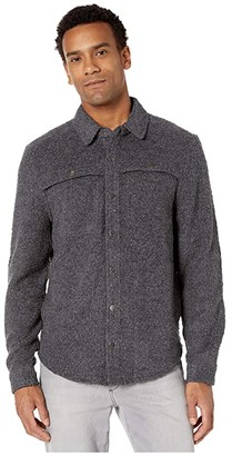 Toad&Co Telluride Sherpa Shirt Jacket (Charcoal Heather) Men's Clothing