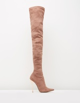 Blushing Bee Boots