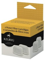 Keurig 2-Pack Water Filter Cartridge Refills