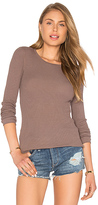 Bobi Modal Thermal Long Sleeve Crew Neck Top