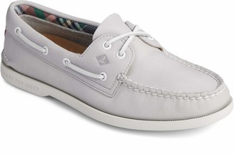Sperry Women's A/O PlushWave Smooth Leather Boat Shoe