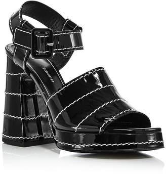 Proenza Schouler Women's Platform Block-Heel Sandals